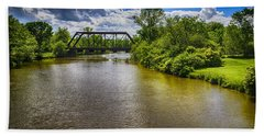 Bath Towel featuring the photograph Royal River by Mark Myhaver