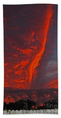 Royal Sunset Hand Towel