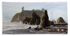 Ruby Beach Hand Towel