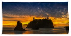 Ruby Beach Olympic National Park Bath Towel