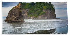 Ruby Beach Seastack Hand Towel