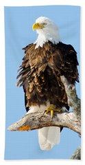 Ruffled Eagle Bath Towel