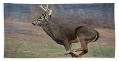 Running Buck Bath Towel