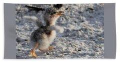 Running Free - Least Tern Hand Towel