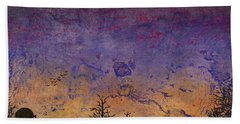 Rural Sunset Hand Towel by Jack Malloch
