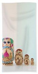 Russian Dolls Hand Towel