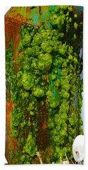 Rust And Moss Bath Towel