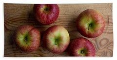 Rustic Apples Bath Towel