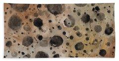 Rustic Dots Hand Towel