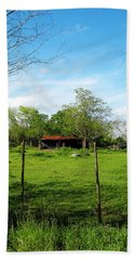 Rustic Land Of Beauty - Rural Texas Hand Towel