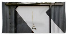 Rusty Door- Photography Bath Towel