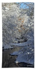 Saco River New Hampshire Bath Towel