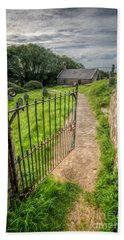 Bath Towel featuring the photograph Sacred Path by Adrian Evans