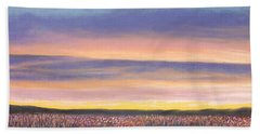 Sagebrush Sunset A Hand Towel