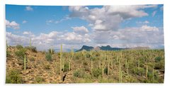 Saguaro National Park Tucson Az Usa Bath Towel