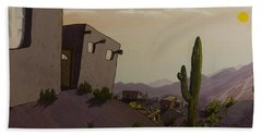 Saguaro Sunset Hand Towel