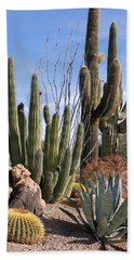 Saguaros And Such Hand Towel