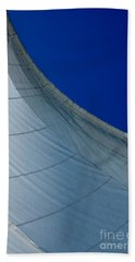 Hand Towel featuring the photograph Sail Away by Christiane Hellner-OBrien