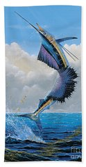 Sailfish Dance Off0054 Hand Towel