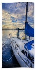 Sailing Blues Bath Towel
