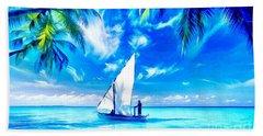Sailing Hand Towel