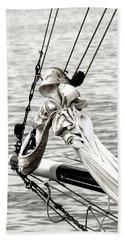 Sailing The Seven Seas Hand Towel