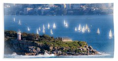 Sails Out To Play Hand Towel by Miroslava Jurcik