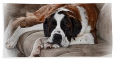 Saint Bernard Bath Towel