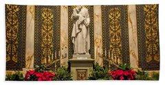 Saint Vincent Depaul Chapel Bath Towel