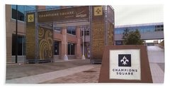 Saints - Champions Square - New Orleans La Bath Towel