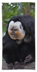 Saki Monkey Hand Towel
