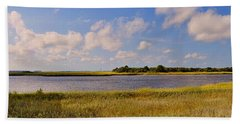 Salt Marsh Morning - Southport Bath Towel