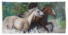 Salt River Horseplay Hand Towel