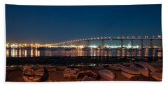 San Diego Bridge  Hand Towel