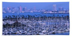 San Diego Twilight Bath Towel