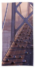 San Francisco Bay Bridge Bath Towel