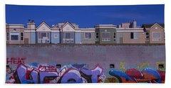 San Francisco Graffiti Bath Towel