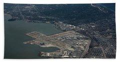 San Francisco International Airport Bath Towel
