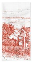 San Francisco Leavenworth Street Bay View Bath Towel