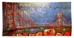 San Francisco Poppies For Lls Hand Towel