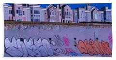 San Francisco Sea Wall Bath Towel