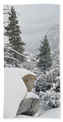 Bath Towel featuring the photograph San Jacinto Winter Wilderness by Kyle Hanson