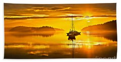 San Juan Sunrise Bath Towel by Robert Bales