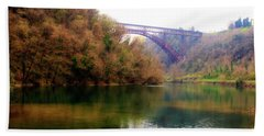 San Michele Bridge N.1 Bath Towel