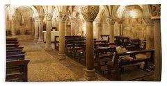 San Michele Chapel Bath Towel