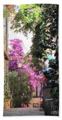Bath Towel featuring the photograph St Tropez by HEVi FineArt