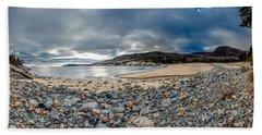 Sand Beach At Acadia Hand Towel