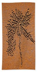 Sand Crab Patterns 2 Hand Towel