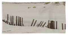 Sand Dunes At Gulf Shores Hand Towel