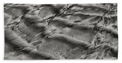 Sand Patterns 1 Bath Towel